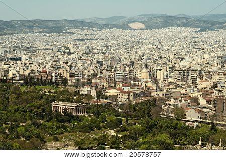 Athens` Skyline
