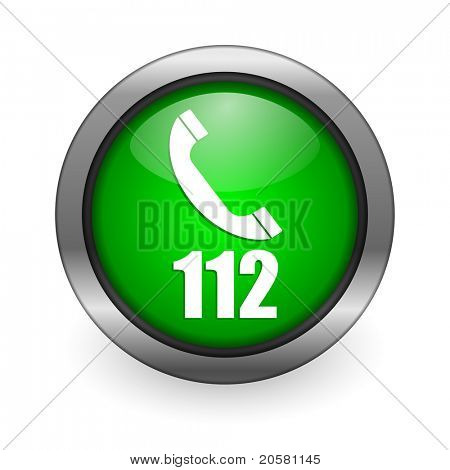 emergency call green button