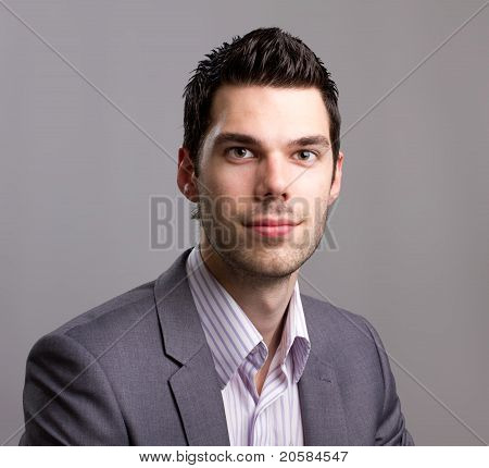 Attractive Young Business Man