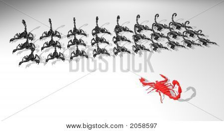 Scorpions Army  One Against