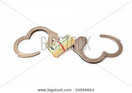 Handcuffs And Dollars