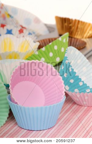 Variety Of Cupcake Liners