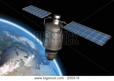 Satellite And Earth 2
