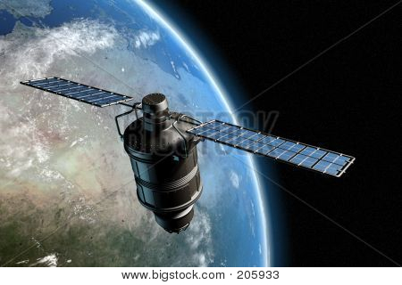 Satellite And Earth 7