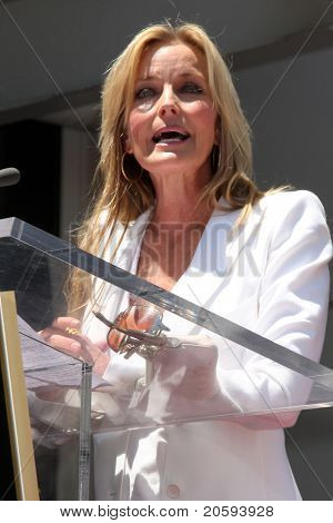 LOS ANGELES - JUN 2:  Bo Derek at the Shania Twain Hollywood Walk of Fame Star Ceremony at W Hotel Sidewalk on June 2, 2011 in Los Angeles, CA