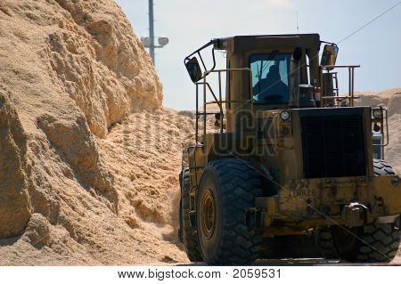 Truck And Sawdust