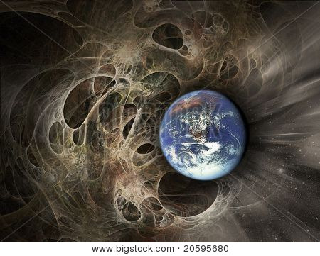 Earth collapse