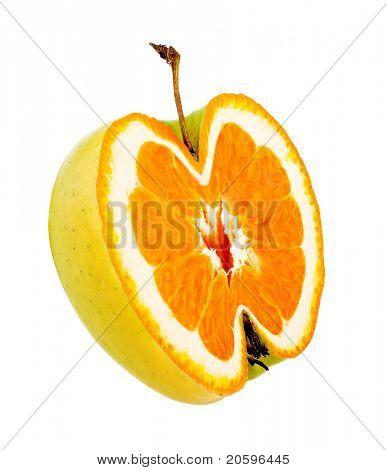 Seltsame Apfel