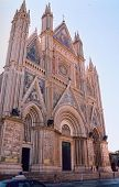image of cornerstone  - This stunning cathedral is the summit of this beautiful medival City located near Assisi Italy - JPG
