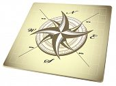 pic of compass rose  - compass rose  - JPG