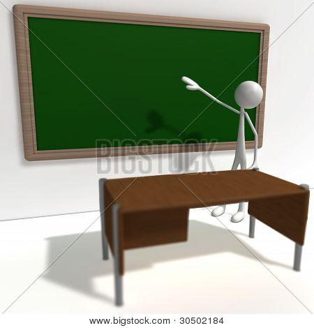 Stickman - School