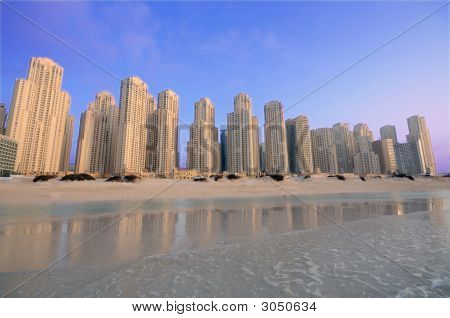 Jumeira Beach Towers In Dubai