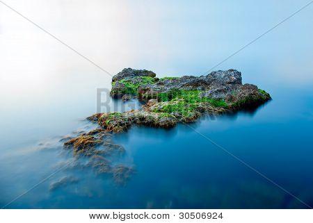 A Large Rock