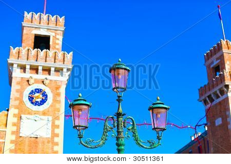 Lantern And Tower Of Venetian Arsenal