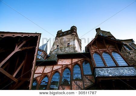Fragment Of Castle In Cochem