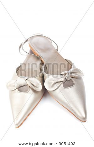 Wedding Shoes Isolated