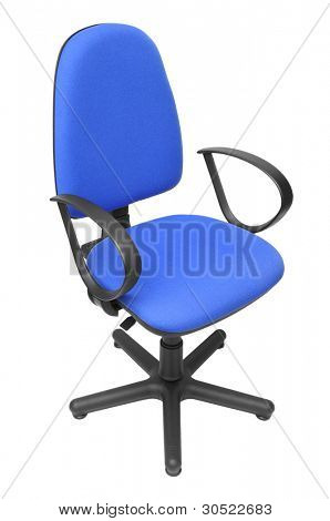 office chair isolated on a white background