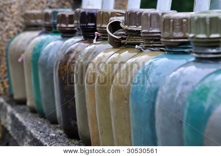 Military Water Bottles, Vietnam
