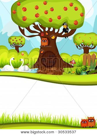 Wildenlohslinie 27Children Background, Vector Style