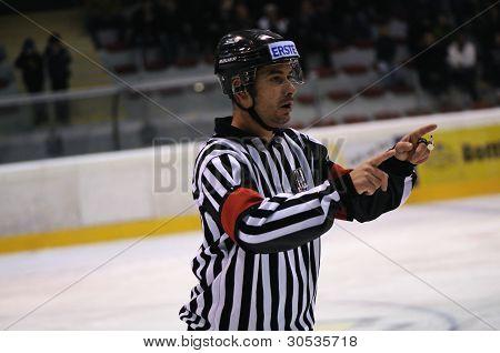 Árbitro de hockey
