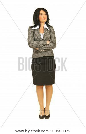 Attractive Business Woman With Attitude