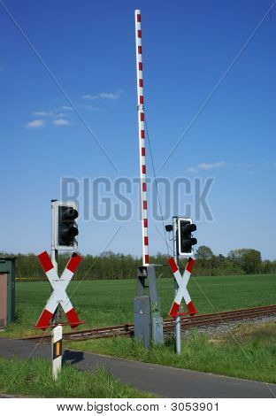 Railway Crossing.