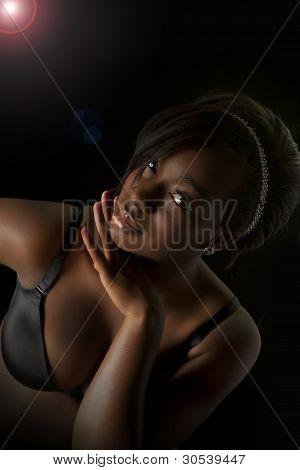 Nigerian Woman Fashion Beauty Shoot