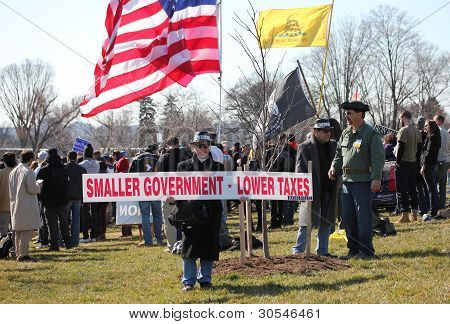 Smaller Government - Lower Taxes