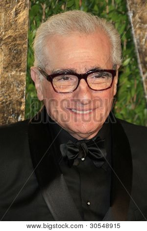 LOS ANGELES - FEB 26:  Martin Scorsese arrives at the 2012 Vanity Fair Oscar Party  at the Sunset Tower on February 26, 2012 in West Hollywood, CA