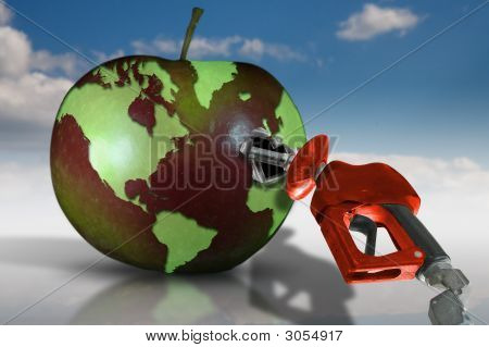 Gasoline And Earth Fruit