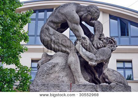 Statue of Rudolph Carl Virchow