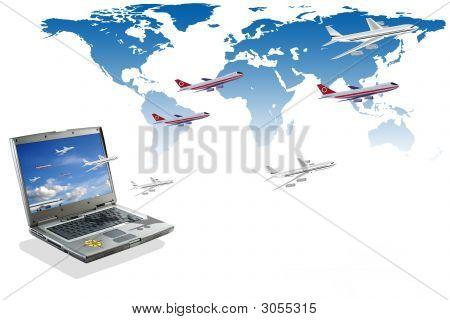 Travel Conceptual Illustration