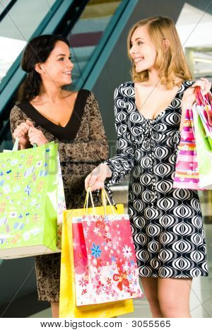 O centro de compras