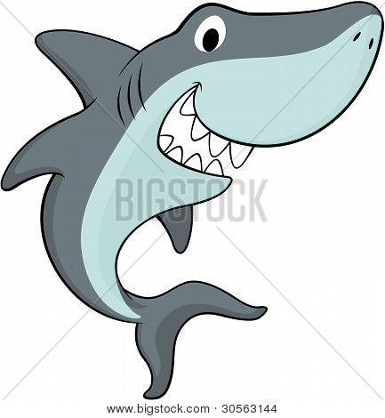 happy shark