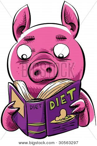 Cerdo de la dieta