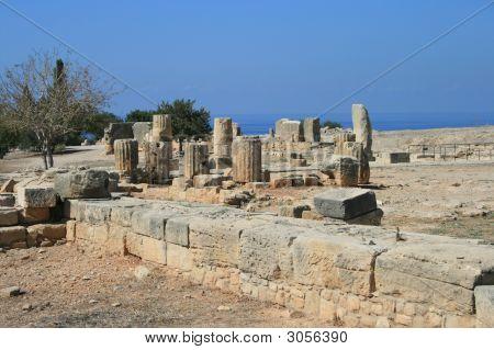 Chipre - ruinas en Kouklia