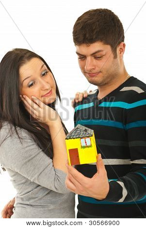 Couple Dreaming To Their House