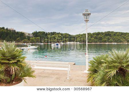 schöne Cavtat-Bucht