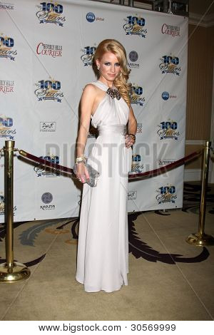 """LOS ANGELES - FEB 26:  Jaimie Hillfiger arrives at the """"Night of a 100 Stars"""" Oscar Viewing Party at the Beverly Hills Hotel on February 26, 2012 in Beverly Hills, CA."""