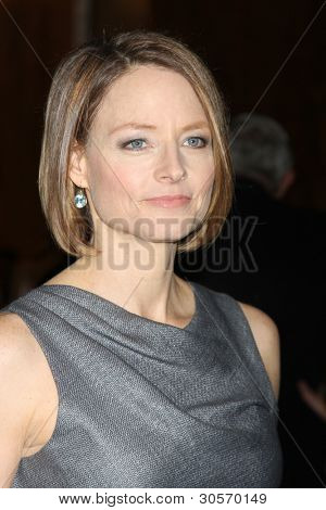 LOS ANGELES - FEB 24:  Jodie Foster arrives at the 49th Annual Publicists Guild Awards Luncheon at the Beverly Hilton Hotel on February 24, 2012 in Beverly Hills, CA.