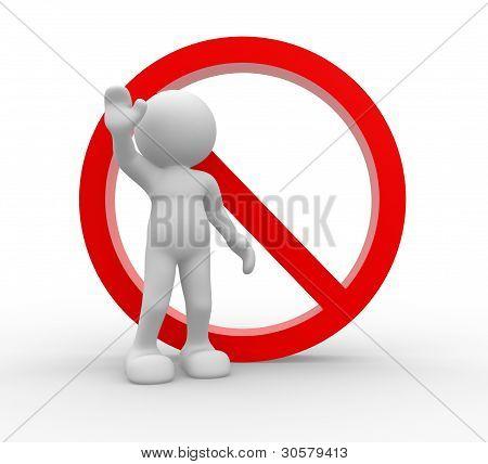 Verbot Zeichen