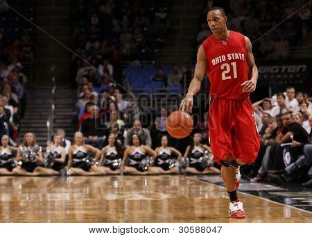 Ohio State guard Evan Turner