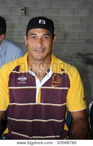 JUSTIN HODGES- Broncos Fan Day