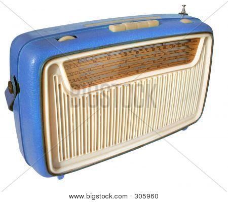 1960s Radio (blue)