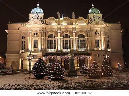 The Slowacki theatre, Krakow