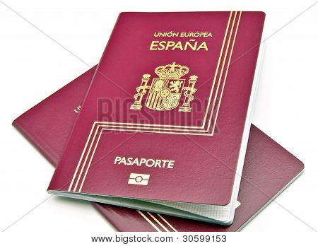 Two passports from Spain