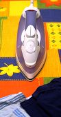 Domestic Washing Steam Iron poster