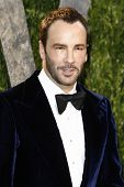 LOS ANGELES - FEB 26:  Tom Ford arrives at the 2012 Vanity Fair Oscar Party  at the Sunset Tower on