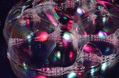 picture of nouns  - Soap bubbles on the surface of the transparent - JPG