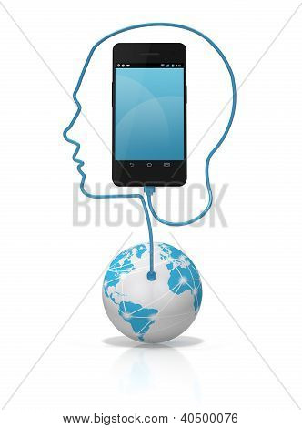 Smart Phone Global Connection